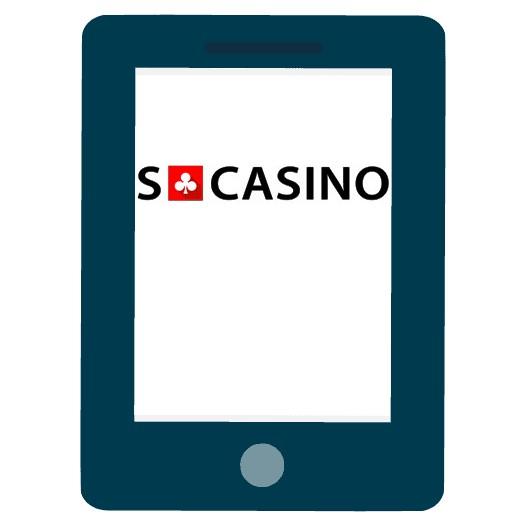 SCasino - Mobile friendly