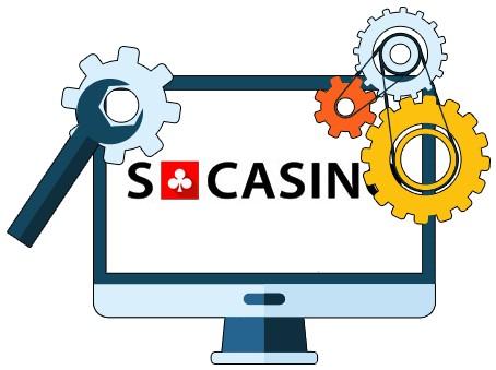 SCasino - Software