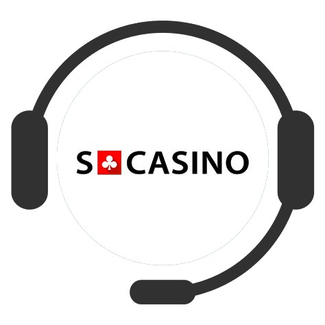 SCasino - Support