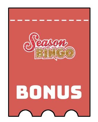 Latest bonus spins from Season Bingo