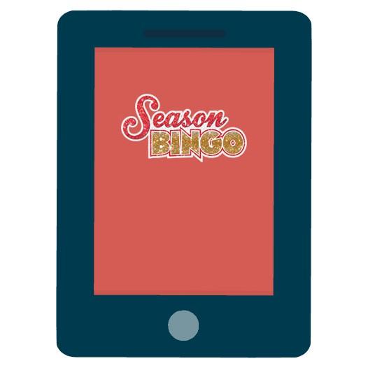 Season Bingo - Mobile friendly