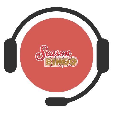 Season Bingo - Support