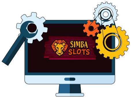 Simba Slots - Software