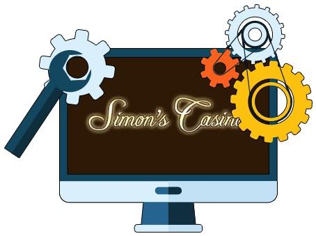 Simons Casino - Software