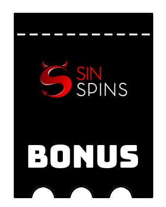 Latest bonus spins from Sin Spins
