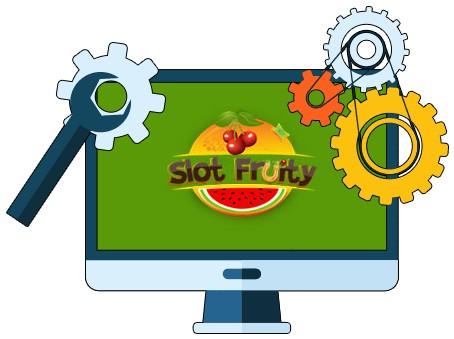 Slot Fruity Casino - Software
