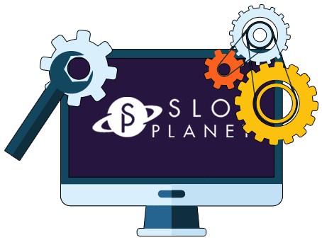 Slot Planet Casino - Software