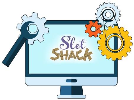 Slot Shack Casino - Software