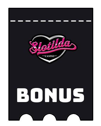 Latest bonus spins from Slotilda