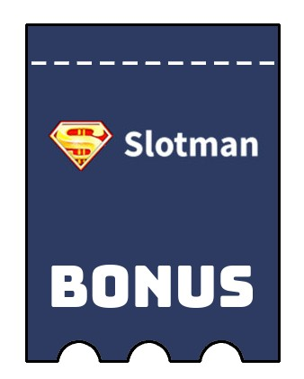 Latest bonus spins from Slotman
