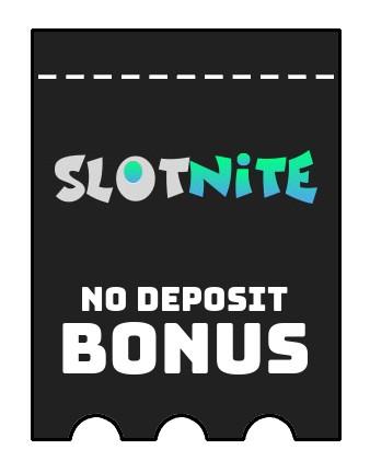 Slotnite - no deposit bonus CR