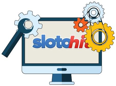 SlotoHit Casino - Software