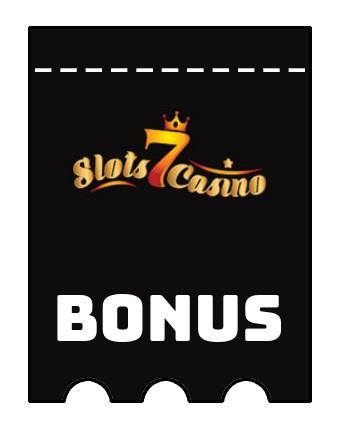 Latest bonus spins from Slots 7 Casino
