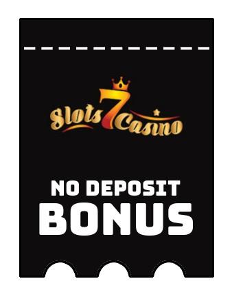 Slots 7 Casino - no deposit bonus CR