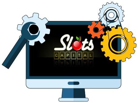 Slots Capital Casino - Software