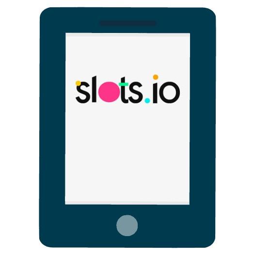 Slots io - Mobile friendly