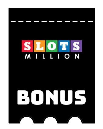 Latest bonus spins from Slots Million Casino