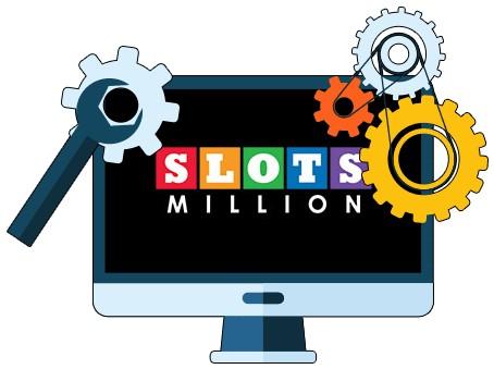 Slots Million Casino - Software