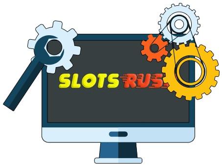 Slots Rush Casino - Software