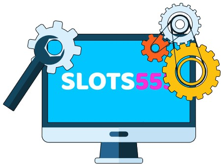 Slots555 Casino - Software