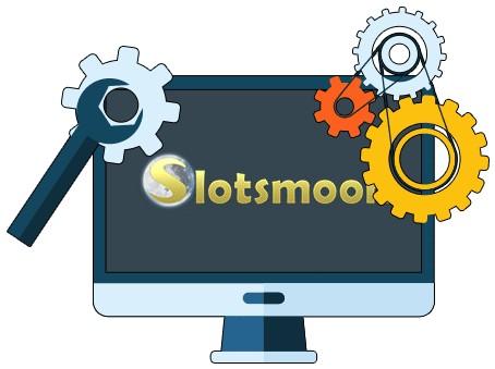 Slotsmoon Casino - Software