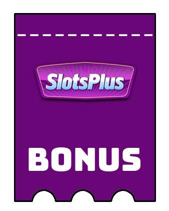 Latest bonus spins from SlotsPlus