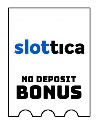 Slottica Casino - no deposit bonus CR
