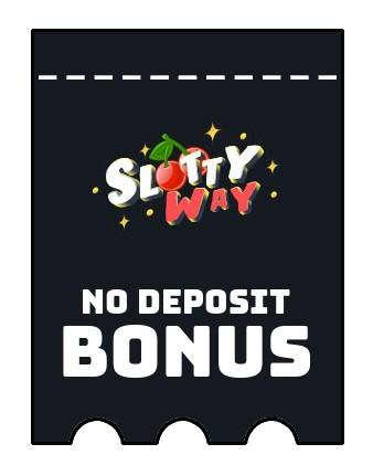 Slottyway - no deposit bonus CR