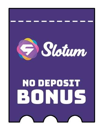 Slotum - no deposit bonus CR