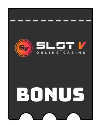 Latest bonus spins from SlotV Casino