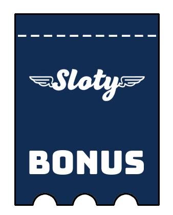 Latest bonus spins from Sloty Casino