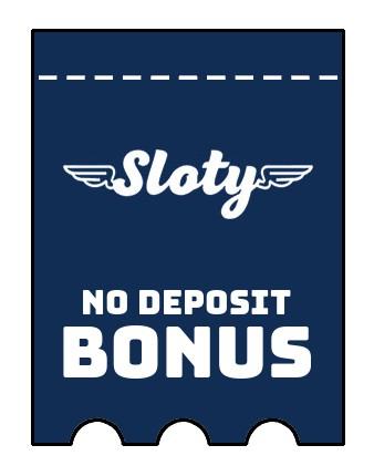 Sloty Casino - no deposit bonus CR