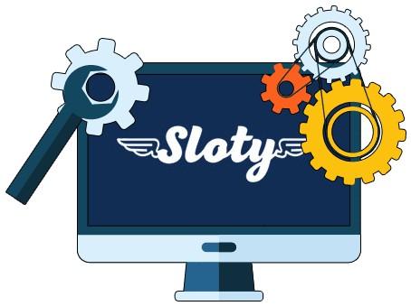 Sloty Casino - Software