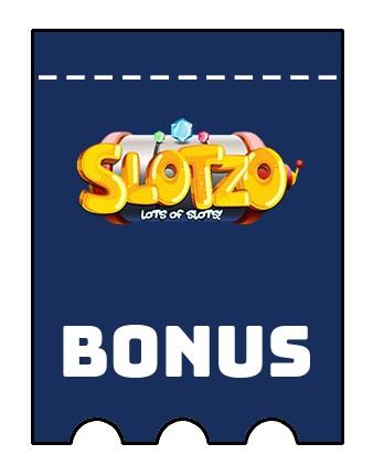 Latest bonus spins from Slotzo Casino