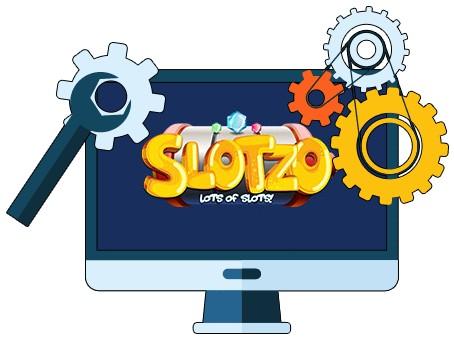 Slotzo Casino - Software