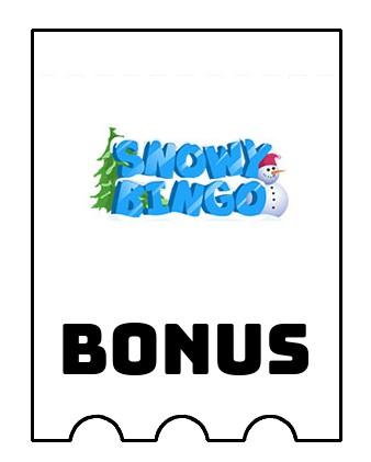 Latest bonus spins from Snowy Bingo Casino