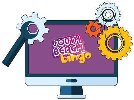 South Beach Bingo Casino - Software