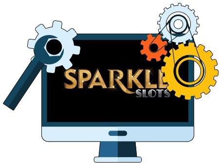 Sparkle Slots Casino - Software
