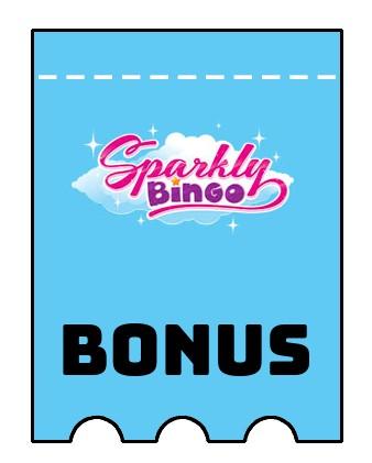 Latest bonus spins from Sparkly Bingo