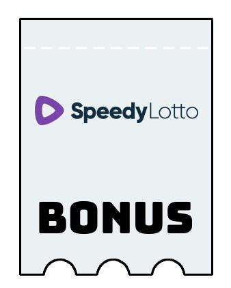 Latest bonus spins from SpeedyLotto