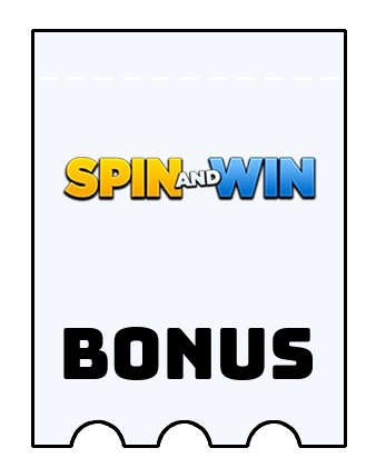 Latest bonus spins from Spin and Win Casino