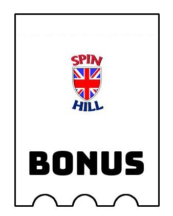 Latest bonus spins from Spin Hill Casino