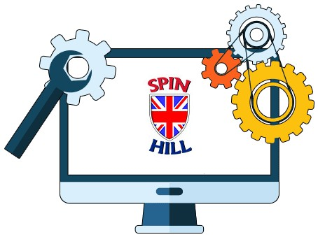 Spin Hill Casino - Software