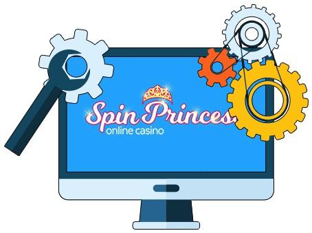 Spin Princess Casino - Software