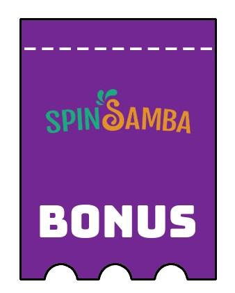 Latest bonus spins from Spin Samba