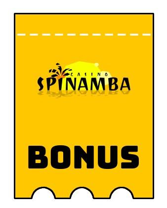 Latest bonus spins from Spinamba