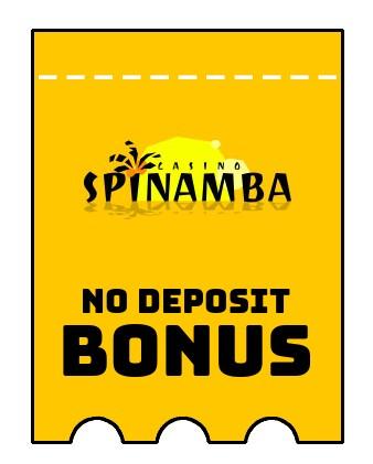 Spinamba - no deposit bonus CR