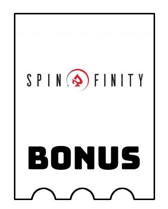 Latest bonus spins from Spinfinity