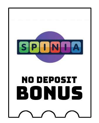 Spinia Casino - no deposit bonus CR