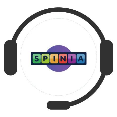 Spinia Casino - Support